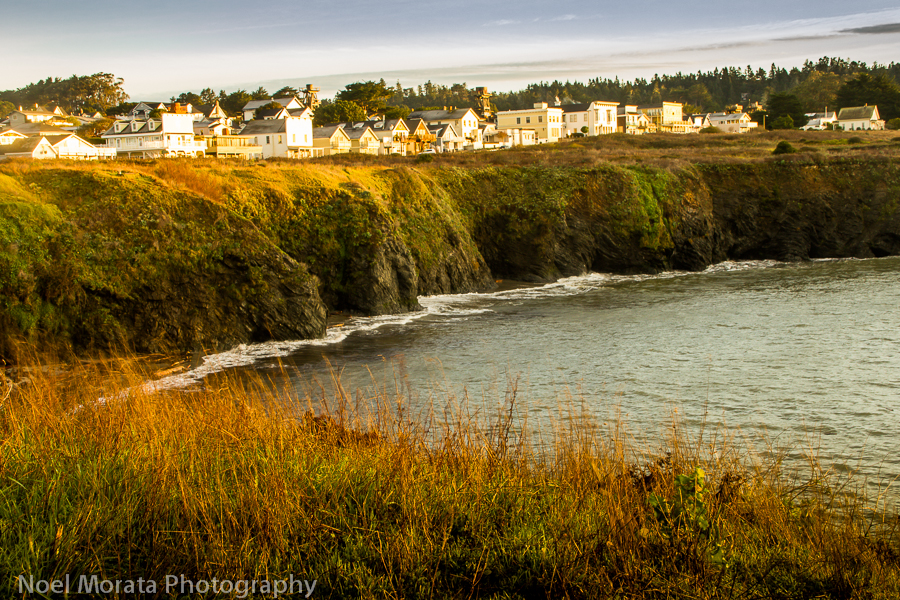 Visit the Mendocino town and coastal trails