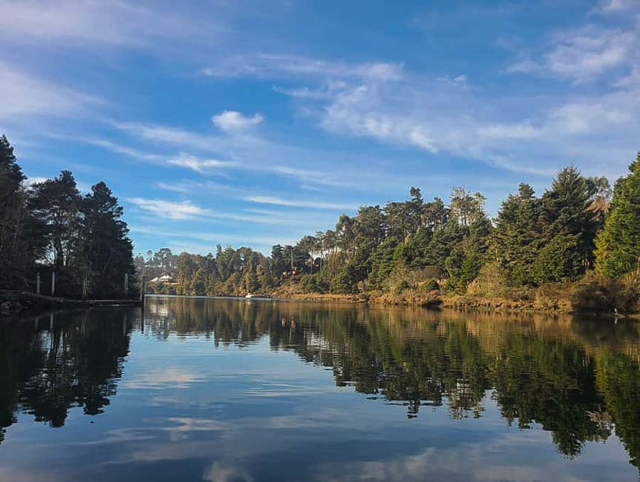 Go kayaking on the Noyo river