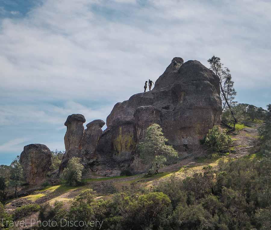 Rock climbing fun at Pinnacles National Park