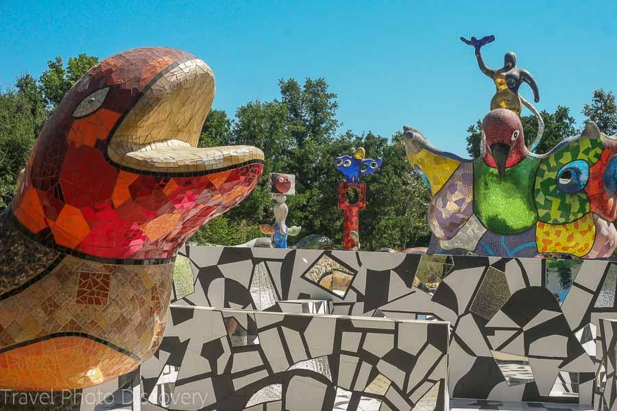 Queen Califia's Magic Circle: a magical mosaic garden in Escondido, California