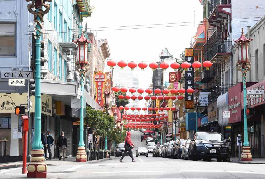 Grant Avenue in Chinatown