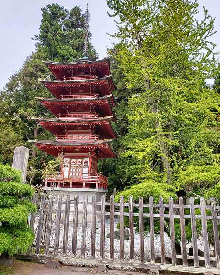 How to get to the Japanese Tea Garden