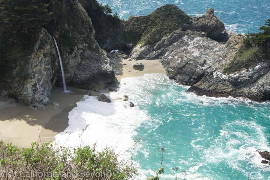 McWay waterfall at Big Sur