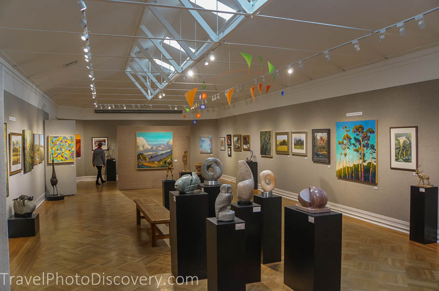 Explore Carmel by the Sea downtown district and the art gallery scene