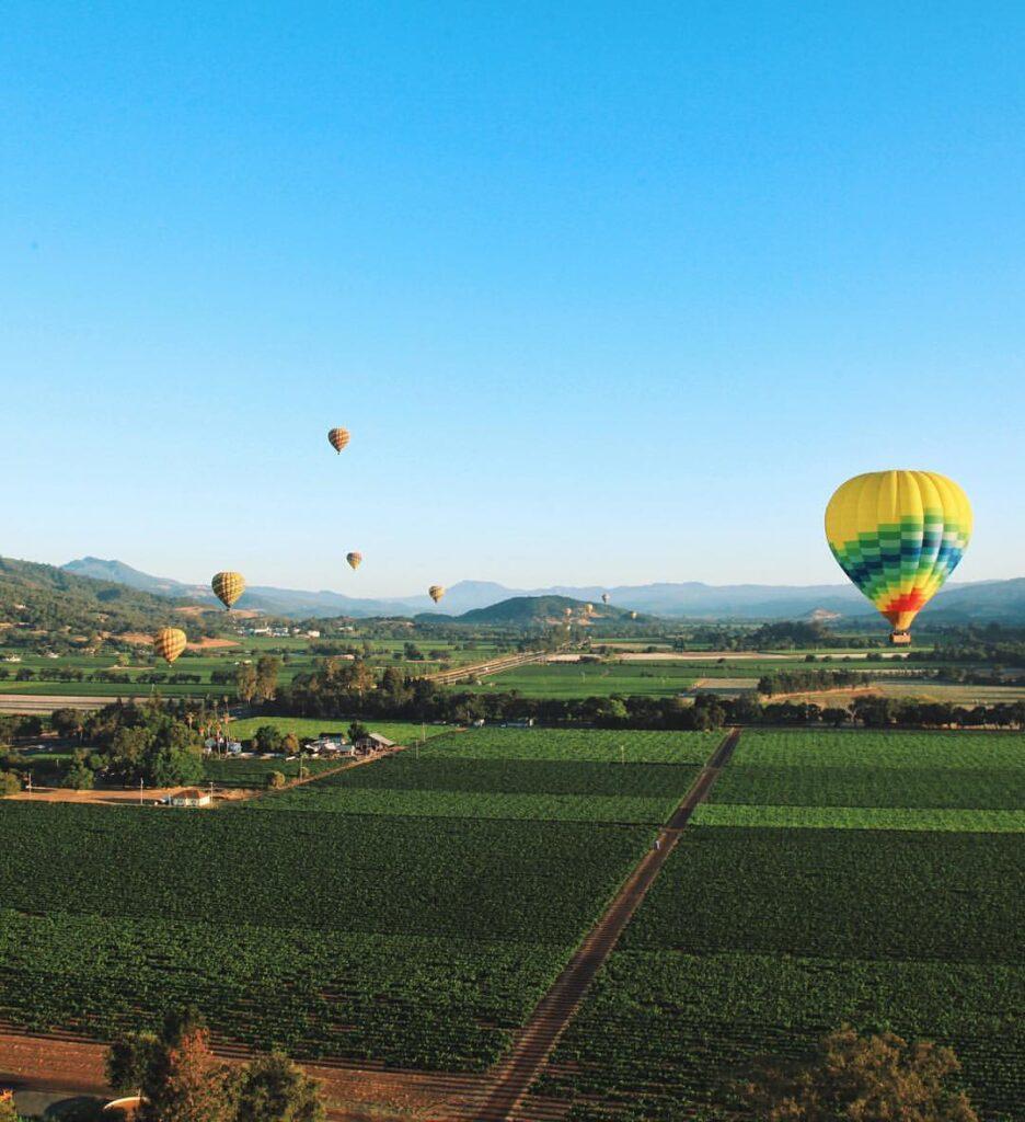 Go Ballooning over Napa