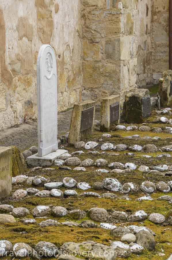 The side cemetery adjoining the basilica