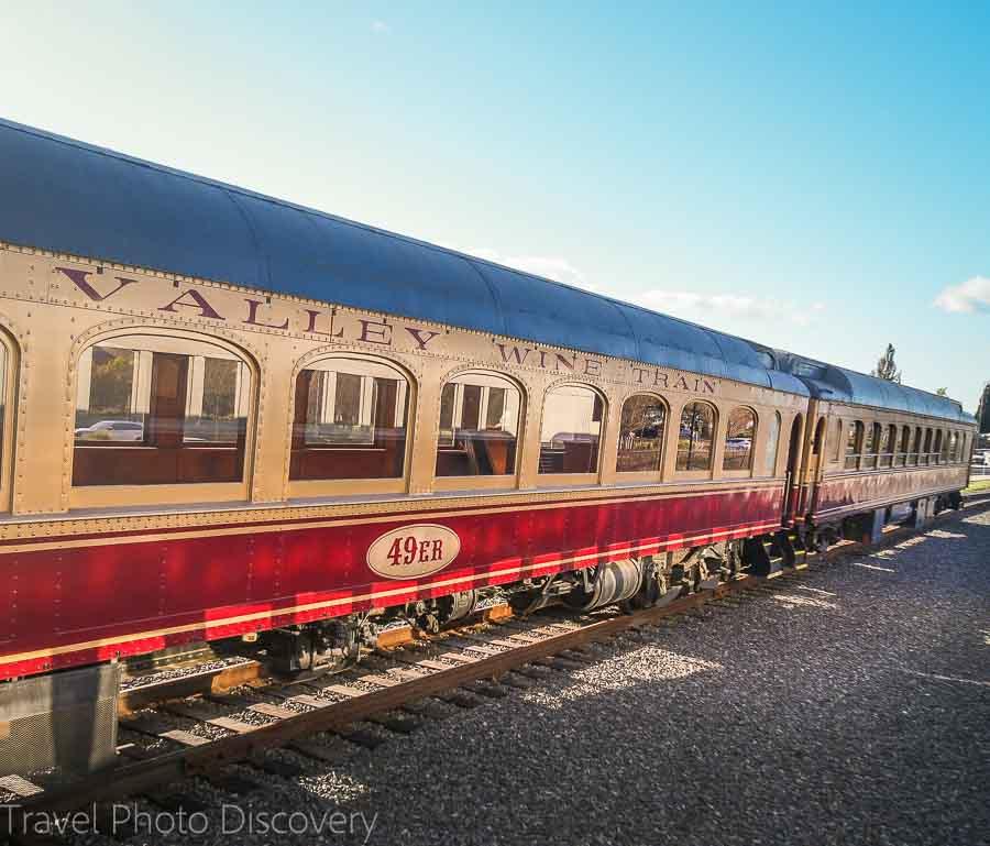 Enjoy the Napa Valley Wine Train
