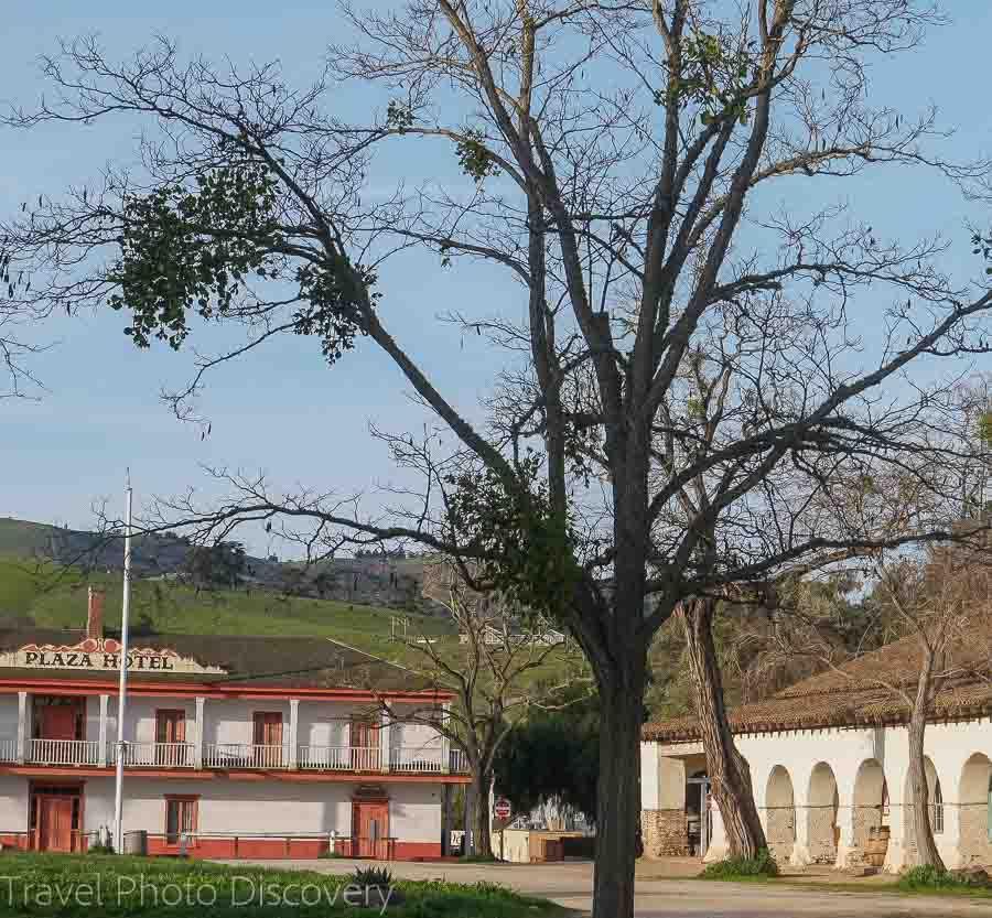Visit to San Juan Bautista and mission