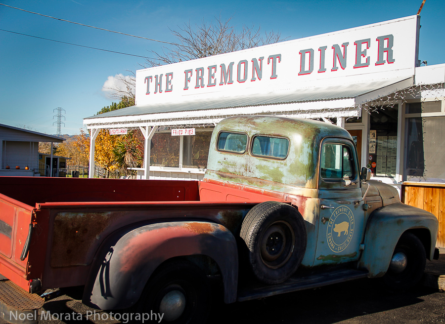 Fremont Diner in Sonoma city outskirts