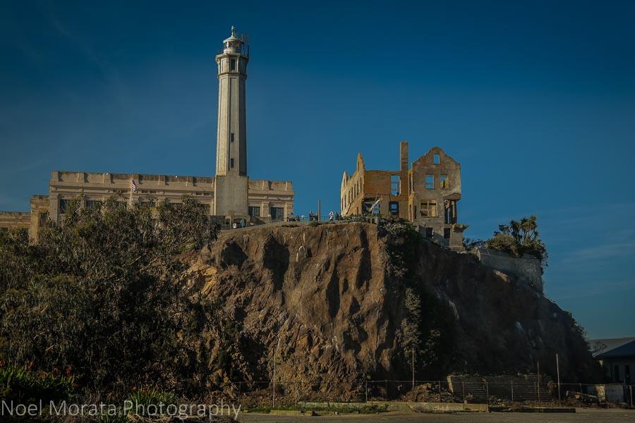 Alcatraz National Historic Landmark in San Francisco