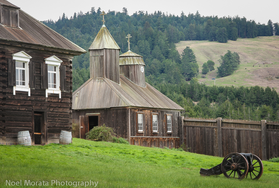 Visit the Russian fort Ross on the north coast of Sonoma