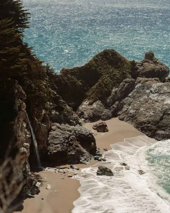 McWay Falls at the Julia Pfeiffer Burns State Park