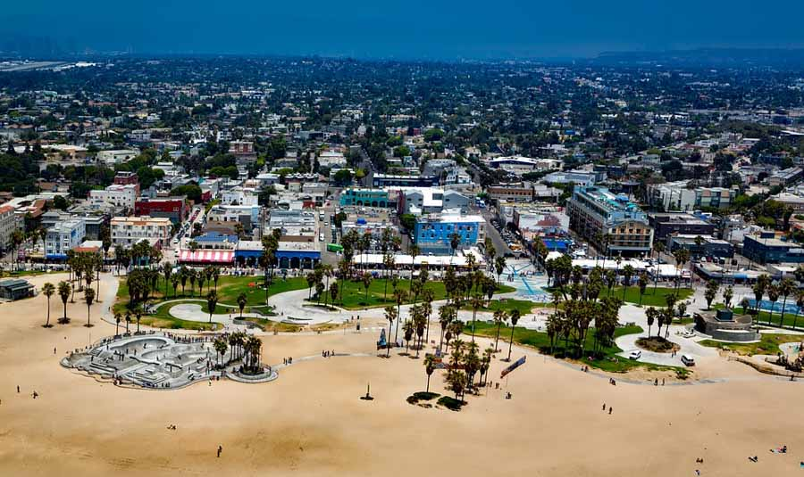 Visiting the colorful and wacky on Venice Beach